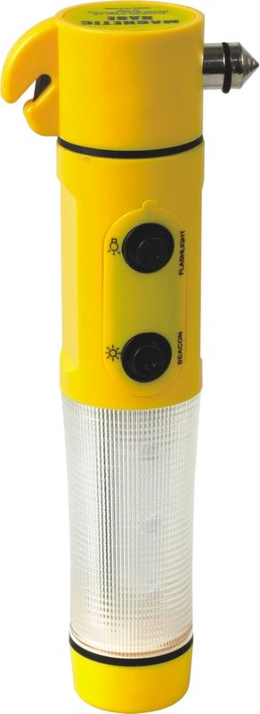 Yellow / Black Flashlight LED Torch , Cordless LED Work Light With Magnetic Base